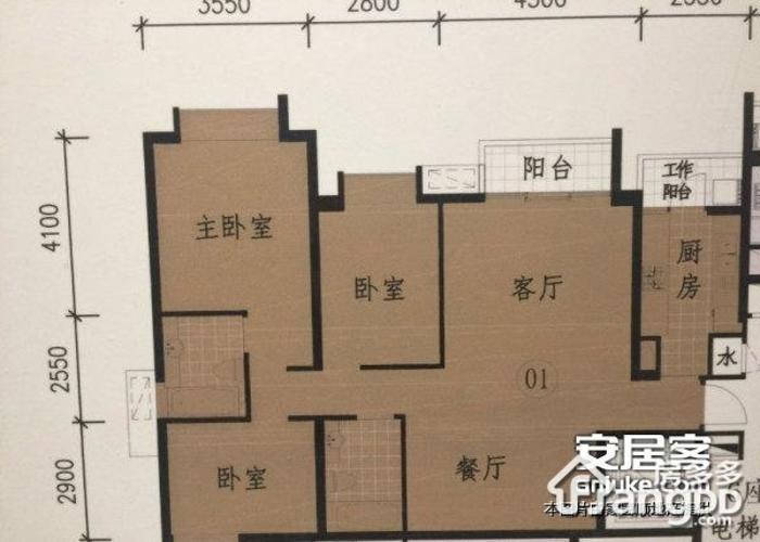 佛山5室2厅5卫㎡-绿岛湖涟岸户型图-买房大师