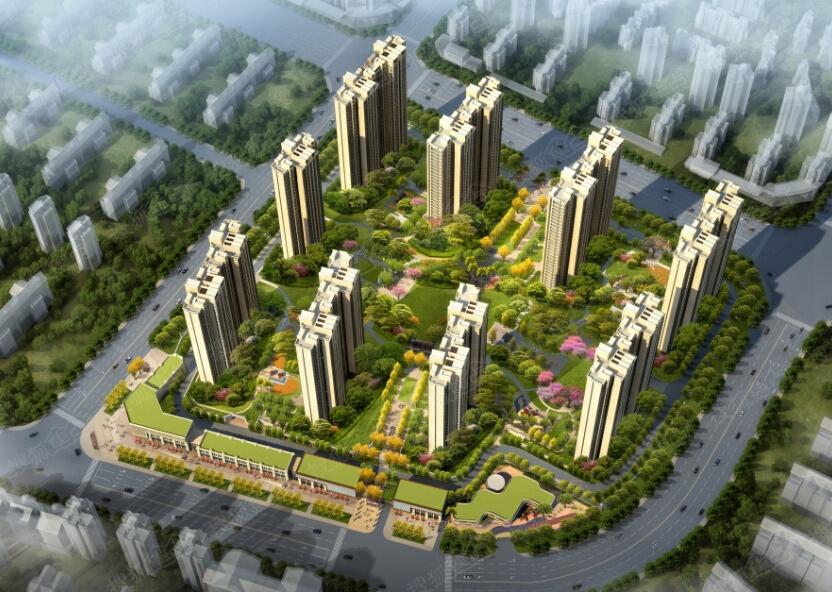 兴润秋语台三期推出78-136平户型,项目位于宜昌市双核心之一的东站图片