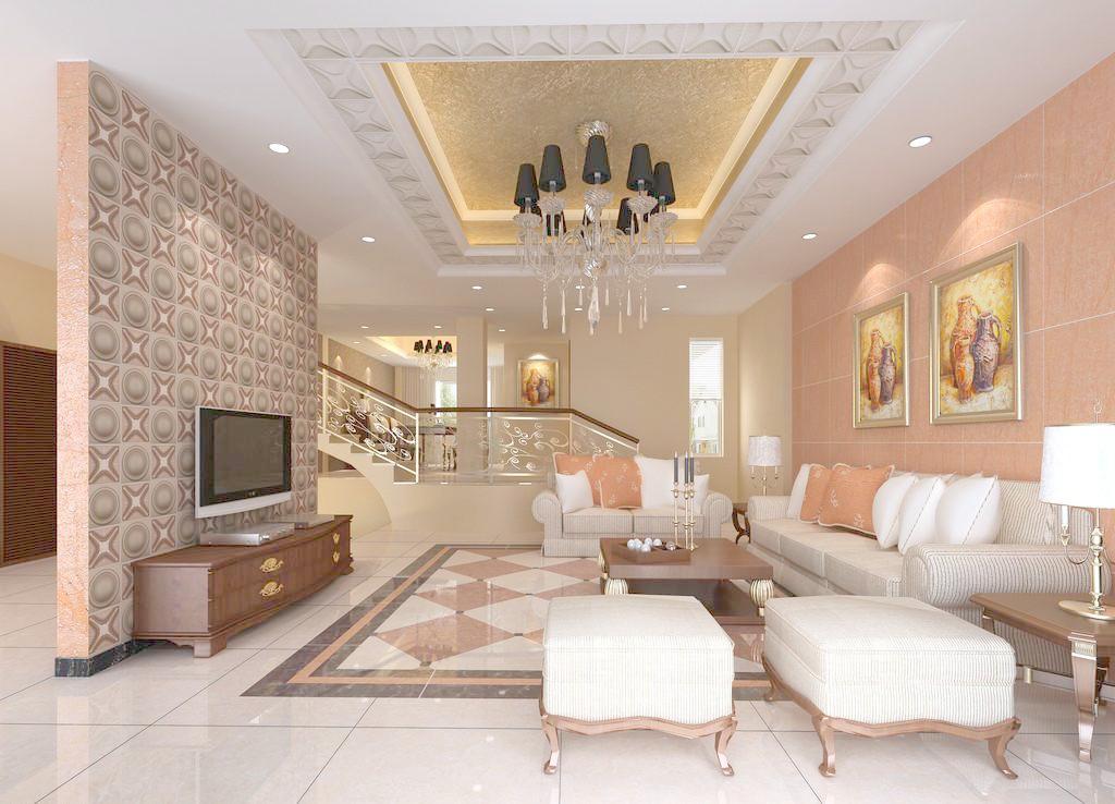 客厅水磨石怎么样 有哪些客厅水磨石效果图