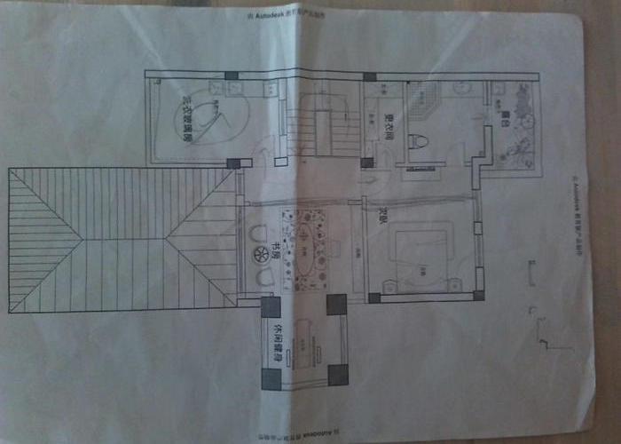 195平方房子设计图