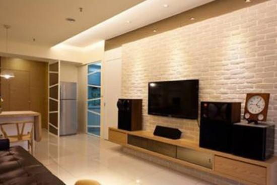 新古典风格电视背景墙效果图大全