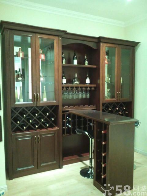 家装酒柜吧台有哪些效果图 如何装修家装酒柜吧台