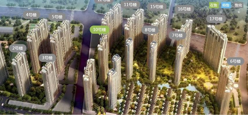 深业滨江半岛:在售二期3号楼,毛坯交付,均价38780元/平米,面积120