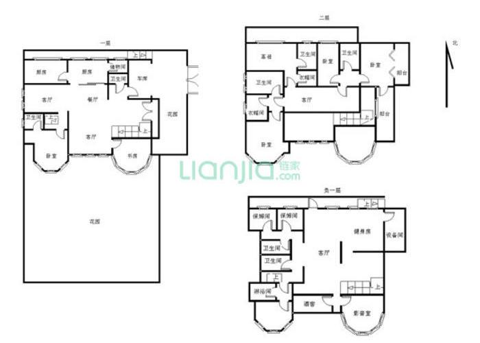 临夏9室5厅7卫906-户型方舟大师图-买房别墅北京河西碧海图片