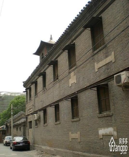 北京白塔寺中廊下四合院规划多少户?