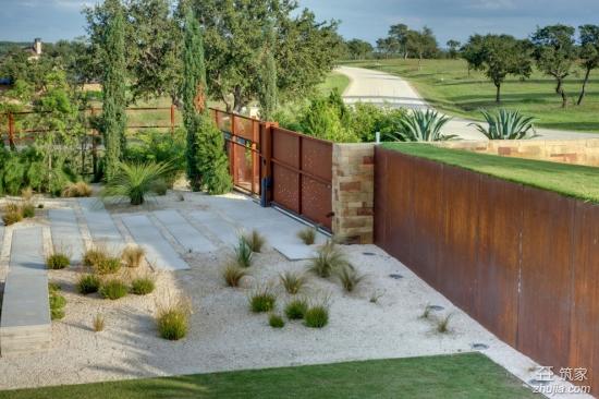 现代简约风格庭院设计图片