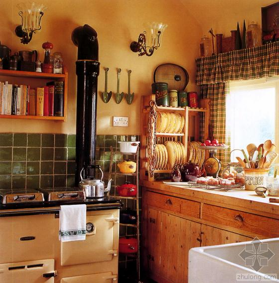 農村廚房設計裝修效果圖有哪些 應該怎么樣對農村廚房
