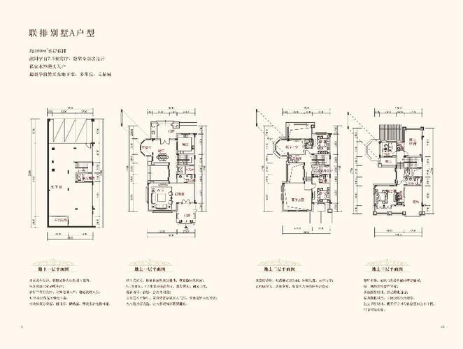 深圳小区 宝安区小区 御景水岸花园(别墅) 户型图