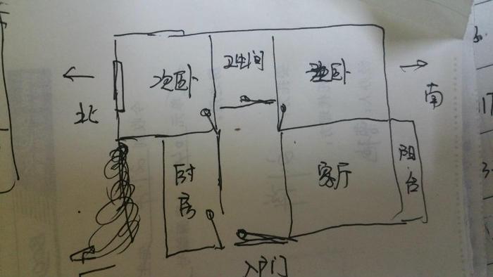 小区电路接线图
