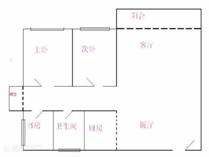 东莞小区 常平镇小区 半岛豪庭 户型图                            2