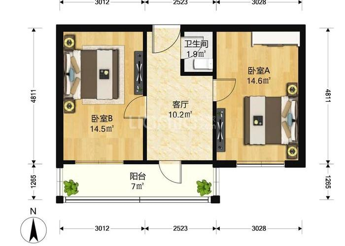 乌江公司电气主接线图