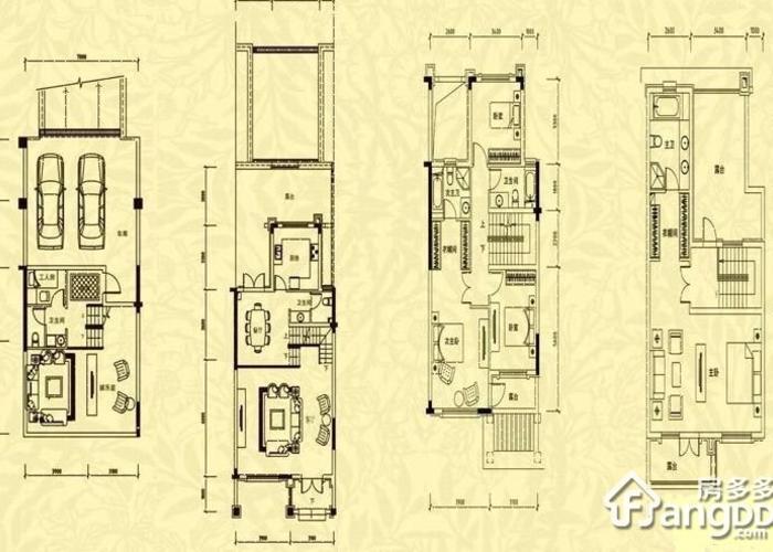 济南6室2厅2卫320㎡-中海国际别墅户型图-买房大师