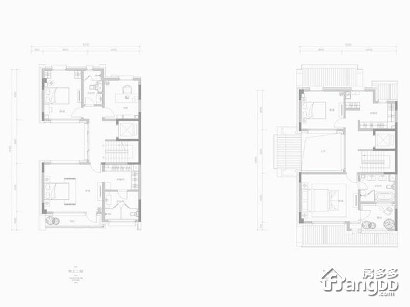 兴创荣墅5室3厅6卫户型图