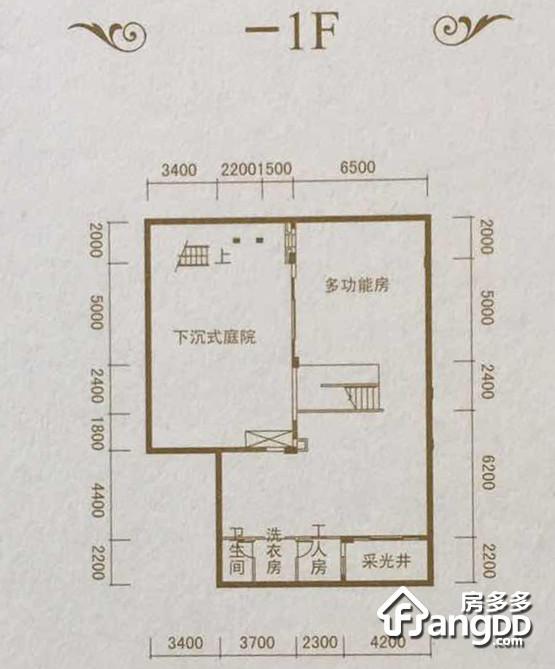 方圆东江月岛7室6厅7卫户型图