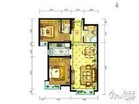 中兴和园2室2厅1卫户型图
