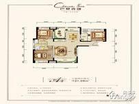 宜化巴黎香颂3室2厅2卫户型图