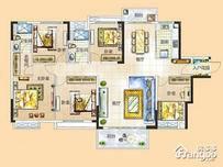 富盈松湖公馆5室2厅2卫户型图