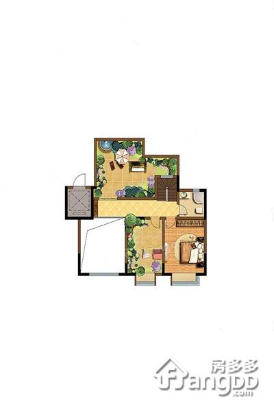聚丰一城江山3室2厅1卫户型图