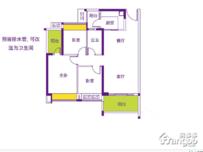 新光时代3室2厅2卫户型图