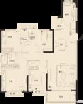 恒大金碧天下二期4室2厅2卫户型图