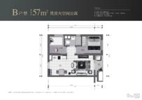 深圳·世茂广场2室1厅1卫户型图