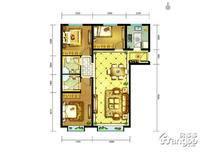 中兴和园3室2厅2卫户型图