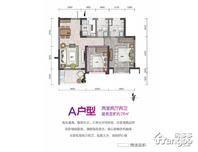 隆源神州半岛2室2厅2卫户型图