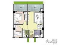 聚园新天地2室2厅1卫户型图