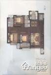 龙湖舜山府3室2厅2卫户型图