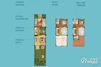 国瑞瀛台2室2厅3卫户型图