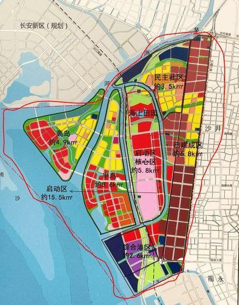 新调整了 规划居住人口规模9.2万人