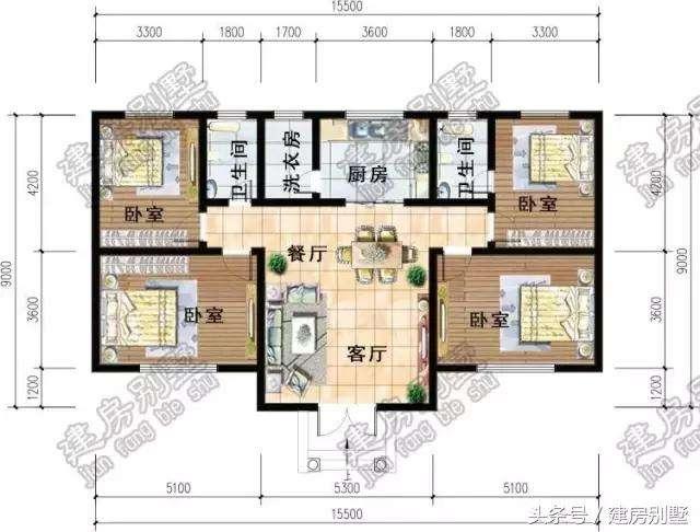 精选一层 两层和三层的图纸,农村现在都这样建房子